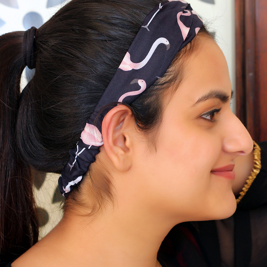 FLORAL PRINTED HAIRBAND