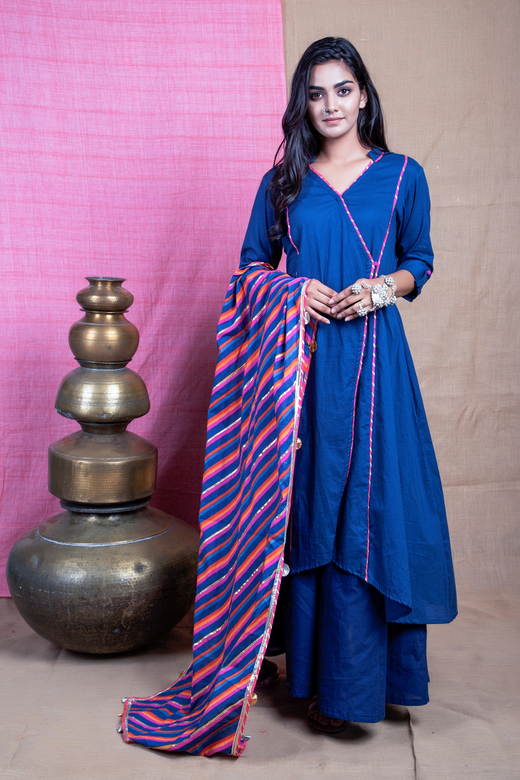 kurta with plazo set